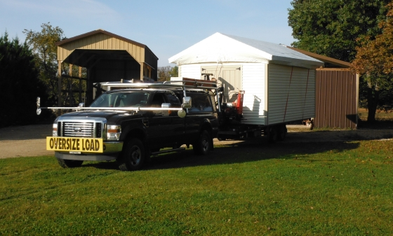 Wisconsin Shed Delivery Services