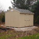 10x14 Gable 7' sides,  Greenfield WI #1