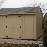 10x14 Gable 7' sides, Greenfield WI #3