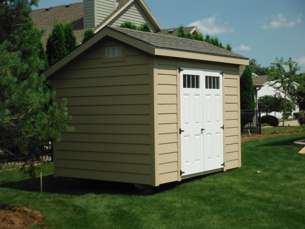 view from back yard 8x10 quaker new berlin - Garden Sheds With A Difference