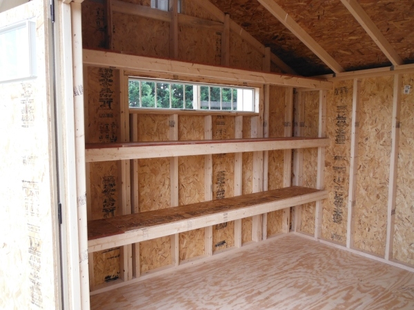 Custom Shed Specialty Options Gable Barn Quaker
