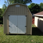 10x12 Barn shed with 6' sidewalls