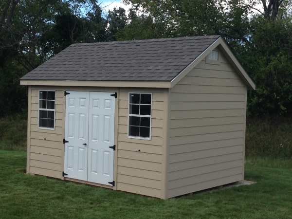 10x14 gable shed east troy wi madison