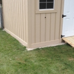 Custom skirting to keep out critters