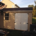 Mukwonago Gable with extra set of side entry doors