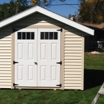 10x12 Gable Greendale WI with Glass in door option