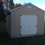 12x12 Gable shed Caledonia WI