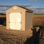 8x10 Gable shed with 7' sides Union Grove WI