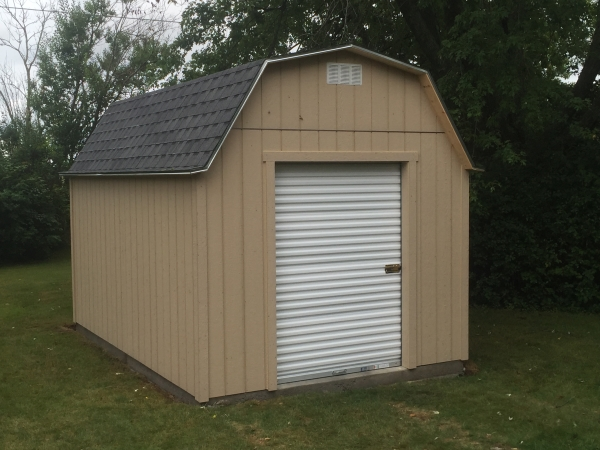 10x12 shed with roll up door shed 64 betco steel roll up for 10 x 11 garage door