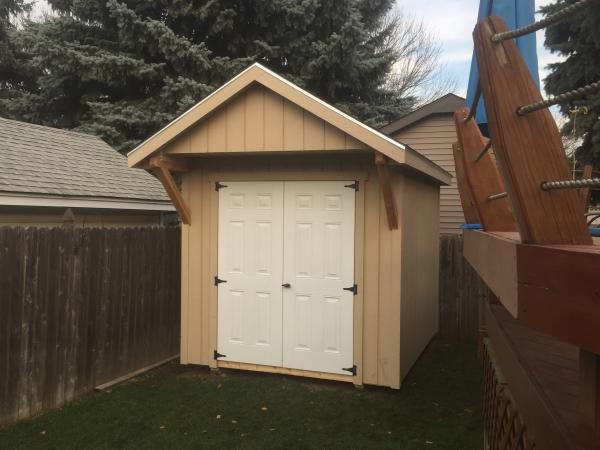 Gable Roof Sheds Milwaukee Custom Storage Shed Builders