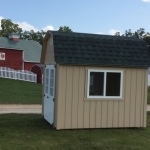 Twin Lakes WI barn with 4x3 sliding service windows