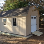 Muskego WI 12x16 Barn with ramp